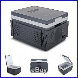 12V Portable Travel Cooler/Warmer Car Mini Refrigerator Outdoor Fridge 12L Grey