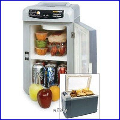12 v volt portable beer food wine cooler refrigerator fridge chest