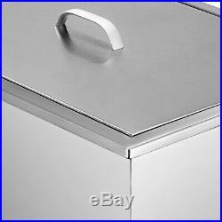14X20 Drop In Ice Chest Bin With Lid Outdoor/Indoor Over/Under Installation