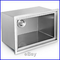 1812 Outdoor/Indoor Drop-in Ice Chest Cooler 304 Patio Beer Bin Box WithPipe
