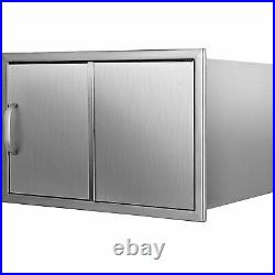 18x12x14.5 Outdoor Kitchen Drop-in Ice Chest Cooler Ice Bin Stainless Steel
