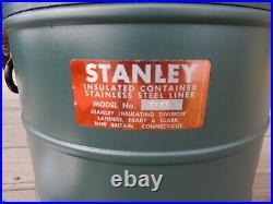 1950's LF&C STANLEY Large INSULATED BEVERAGE DISPENSER JUG Commercial-grade