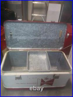 1950s Budweiser Cooler Original Vintage in Excellent Condition