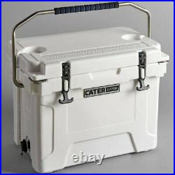 20 Qt Heavy Duty Roto Molded Cooler 10 DAYS Ice Beer TRIPLE Insulated Chest