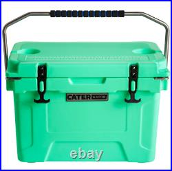 20 Qt. Heavy-Duty Roto-Molded Cooler 10 DAYS Ice Beer Triple Insulated Chest USA