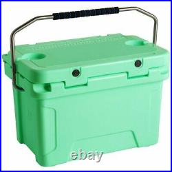20 Qt Heavy Duty Roto Molded Cooler 10 Days Ice Beer Triple Insulated Chest New