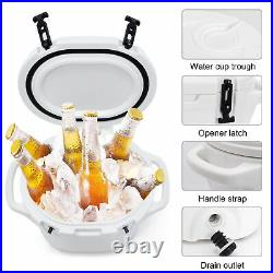 23/25/40Qt Heavy Duty Roto-Molded Cooler 10 DAYS Ice Beer TRIPLE Insulated Chest