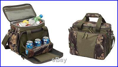 24 cans carry camo fishing beach lunch picnic food insulated cooler w tray 7322