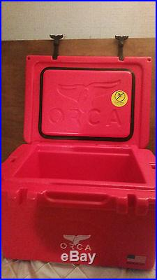 Coolers And Ice Chests » Blog Archive » 26 Quart Orca Cooler Milwaukee RED