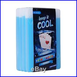 4 Slim Long-Lasting Ice Pack for Lunch Box Coolers Freezer Packs Reusable Fresh