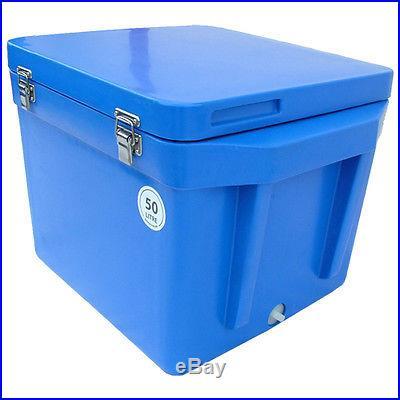53 Quart (50 Liter) extreme temperature solid foam filled cooler IKC50YEL