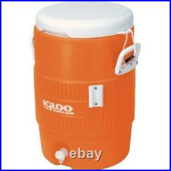 5-Gallon Water Cooler Beverage Sports Outdoor Summer Work Cold Heavy Duty Igloo