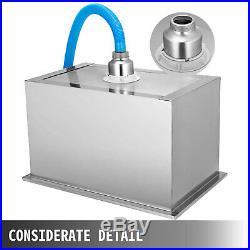 66QTOutdoor Drop-in Ice Chest Cooler 304 Stainless Steel Patio Ice Beer Bin Box