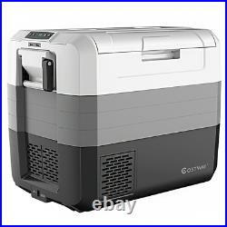 70 Qt Portable Electric Car Cooler Refrigerator Compressor Freezer Outdoor 65 L