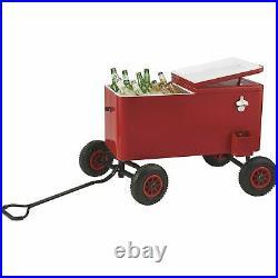 80-Qt. Big Wheel Trolley Cooler