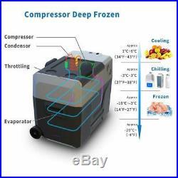 ACOPower 42 Quart 64 Can Solar Powered Fridge or Freezer Cooler, Black(Open Box)