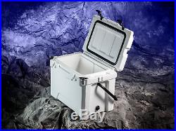 ATVPC Premium Cooler Ice Chest Insulated 25 Qt with Padded Carrying Handle