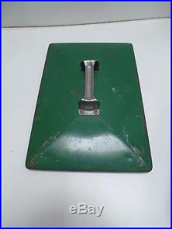 Action Products Snackmaster Green Metal Cooler Drain Bottle Opener Tray Chest