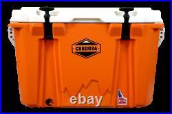 Adventurer 48 qt Orange Cooler. New In Box