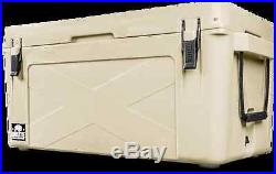 BRAND NEW BISON COOLER 75 QUART ICE CHEST COOLER 75 qt -SAND- FREESHIPPING