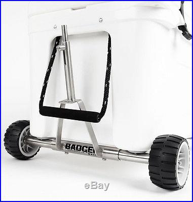 Badger WheelsT Single Axle for YETI Tundra Coolers 35 to 160