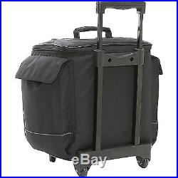 Bellino Bottle Limo 12 Bottle Insulated Wine Tote Case Wheel Travel Cooler with