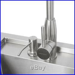 Blaze 30-Inch Outdoor Beverage Center with Sink & Ice Bin Cooler, Stainless Steel