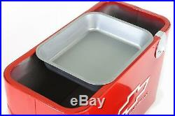 Blue Chevy Vintage Drink Cooler Classic Genuine Chevrolet 50's 60's 70's Style