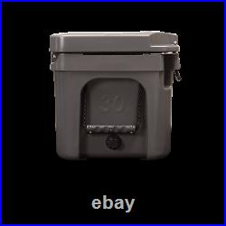 Blue Coolers 30 Quart Companion Roto-Molded Cooler Charcoal Gray Camping Beach