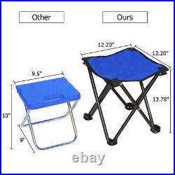 Blue Multi Function Rolling Cooler Picnic Camping Outdoor with Table & 2 Chairs