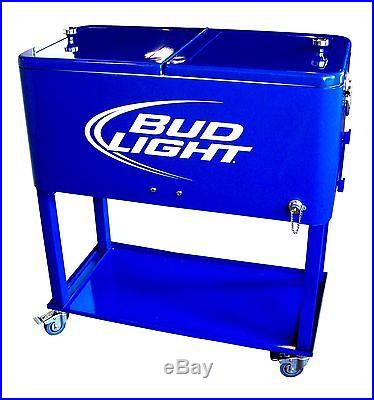 Bud Light Rolling Ice Chest