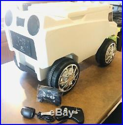 C3 Custom ROOVER COOLER Radio Controlled Bluetooth Speakers Headlights Awesome