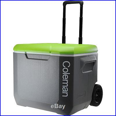 COLEMAN Wheeled Cooler 60 qt GREY