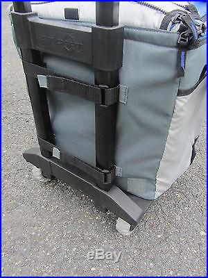 COOL X CALIFORNIA INNOVATIONS SOFT COOLER WITH ROLLING CART JUMPSACK