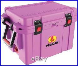Chest Cooler Pelican ProGear 35 Qt. Purple Elite Marine Stainless Steel Hardware