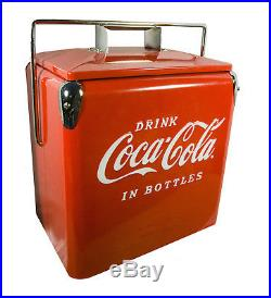 Classic Coca-Cola Picnic Cooler American Retro
