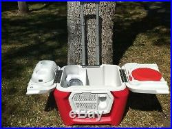 Classic Coolest Cooler with Blender, Speaker, Accessories, More Large & Portable