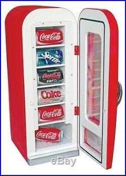 Coca-Cola 10 Can AC/DC Retro Vending Cooler by Koolatron (0.64 Cu. Ft. /18 L)