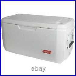 Coleman 120 Qt. Coastal Extreme Marine Cooler Thick Insulation Outdoor Ice Chest