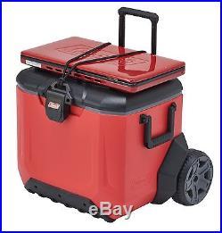 Coleman 55 Quart Rugged 55 A/T Wheeled Cooler