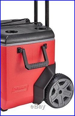 Coleman 55 Quart Rugged 55 A/T Wheeled Cooler New
