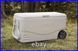 Coleman Cooler 100 Quart Travel Ice Box Camping Fishing Marine Beverage White
