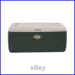 Coleman Outdoor Cooler Ice Patio Chest Party Picnic Beverage Lunch Box Green