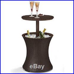 Cool Cocktail Bar Table Outdoor Patio Pool Table Backyard Garden Patio accessory