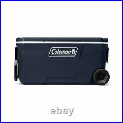 Cooler 100 Quart Large Extreme Portable Outdoor Picnic Beach Camping Wheeled NEW