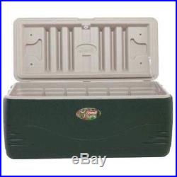 Cooler Chest Xtreme 150 qt Green Cup Holders Picnic Outdoor Camping Portable Kit
