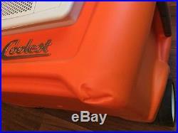 Coolest COOLER Built-in Ice-Crushing Blender USB Speaker Margarita Orange