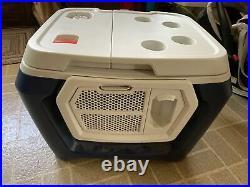 Coolest Cooler Blue, Blender, Bluetooth Speaker, Plates, See Description