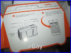 Coolest Cooler Built-In Blender Bluetooth Speaker LED Light USB Charger NEW