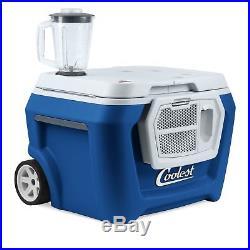 Coolest Cooler EVER! LED Lights! Blender! Bluetooth! Never Used Blue Moon